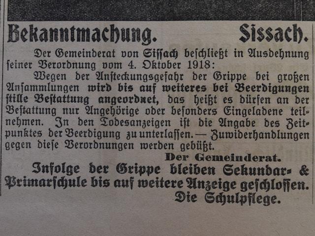 Textausschnitt aus Zeitung
