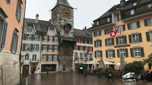 Die Altstadt von Solothurn.