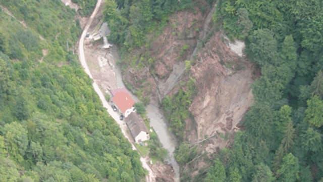 Luftaufnahme des Galterntals