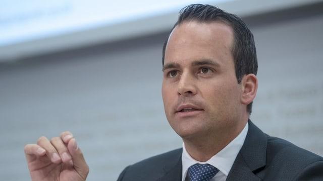 Damian Müller, FDP-Ständerat aus dem Kanton Luzern.