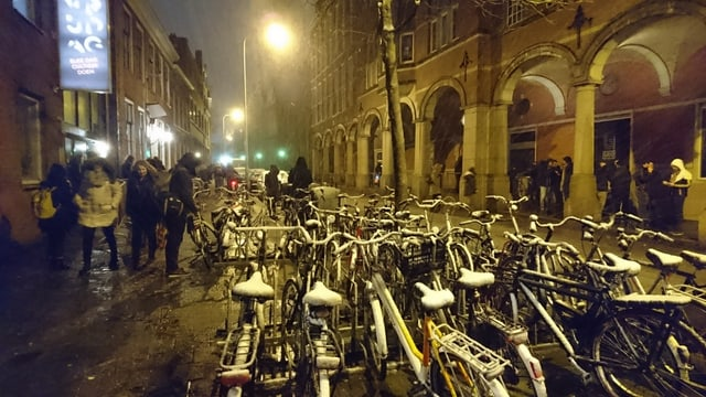 Velos a Groningen cuverts cun naiv