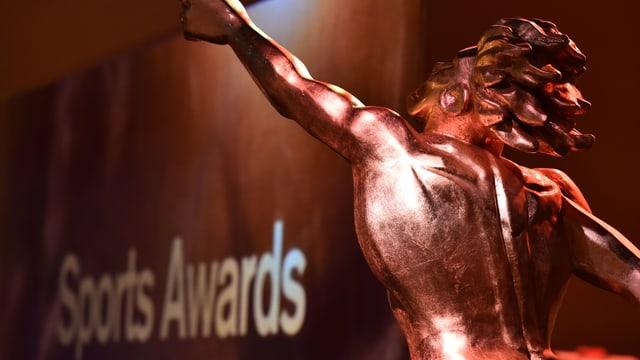 Die Trophäe der «Sports Awards».