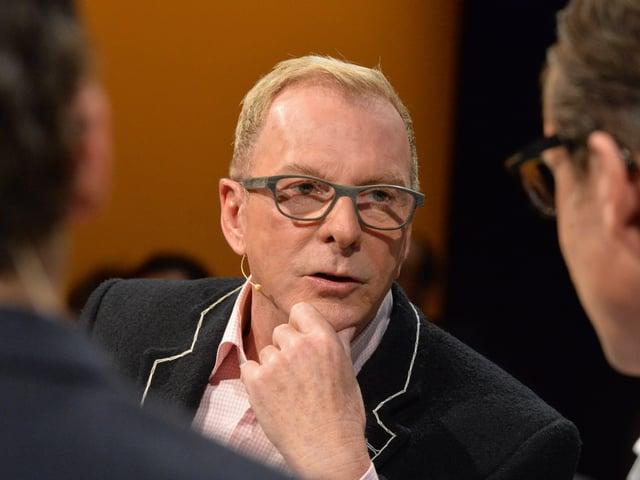 Kurt Aeschbacher in der Sendung.