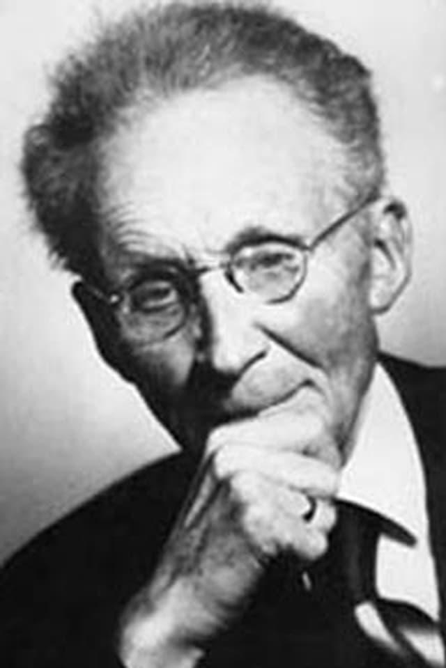 Portraitfoto von Vilhelm Bjerknes