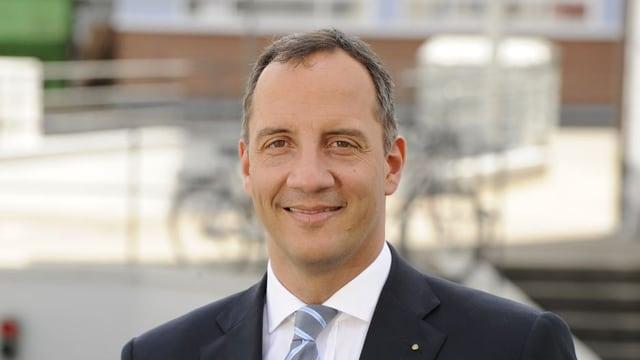 Marc Jaquet, Präsident des Arbeitgeberverbands Basel-Stadt.