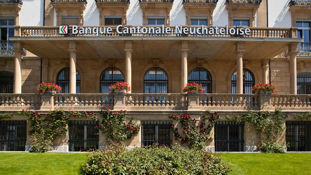 La sedia principala da la banca chantunala da Neuschatel.