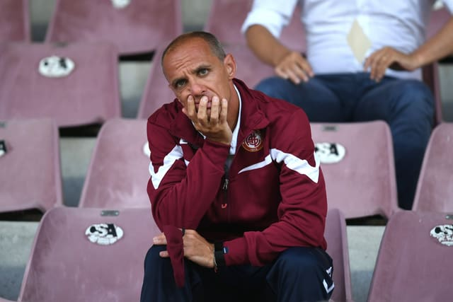 Livorno-Coach Antonio Filippini.