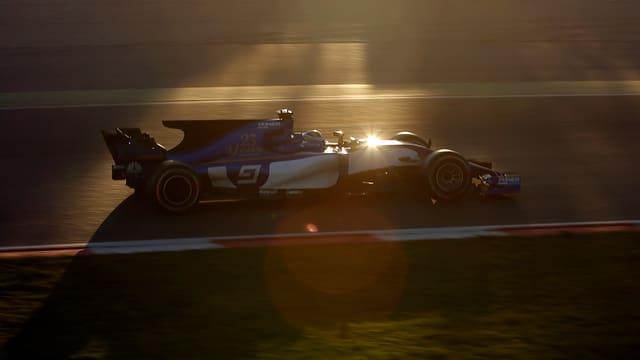 Marcus Ericsson im Sauber.