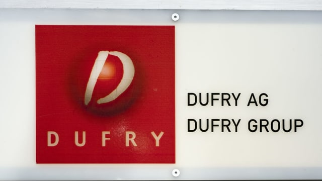 Logo Dufry.