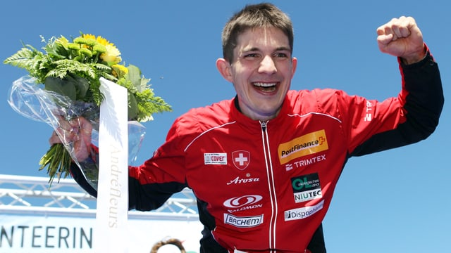 Fabian Hertner triumphierte in Neuseeland.