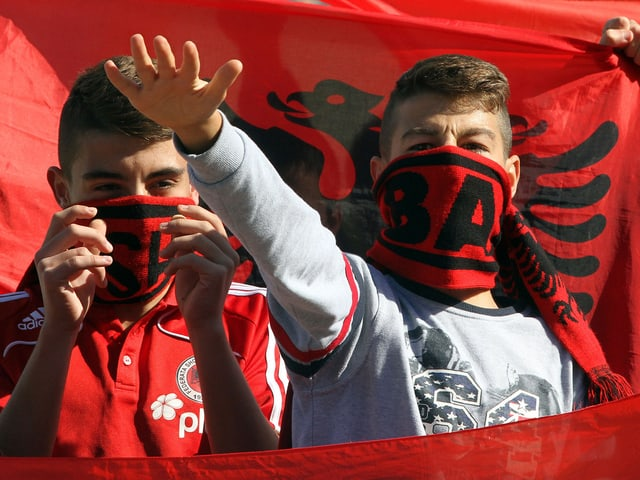 Albanische Fans