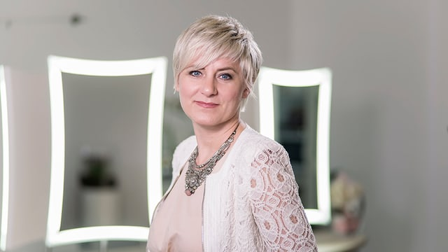 Die Basler Stilberaterin Julia Kolbe.
