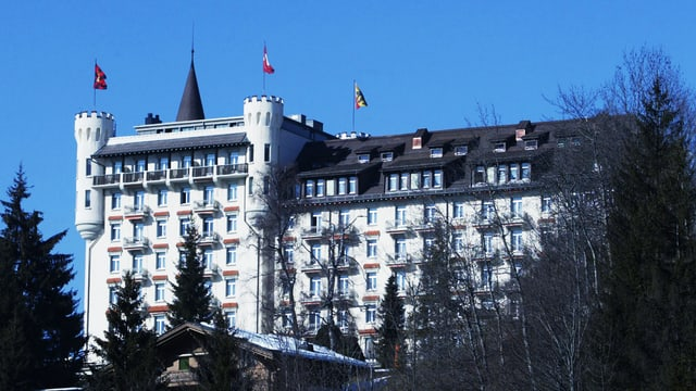 Das Palace Hotel in Gstaad.