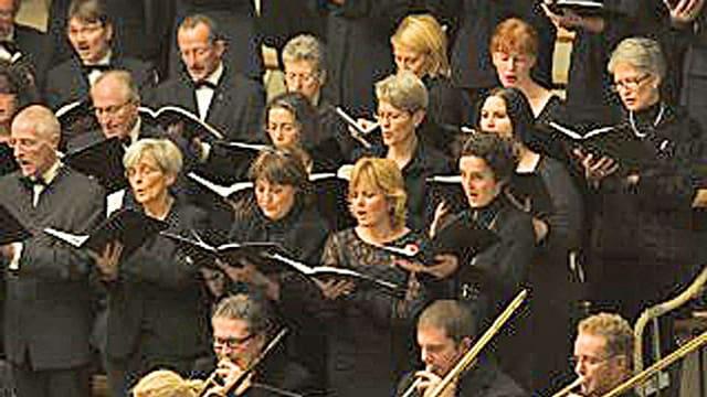 Chor und Posaunen