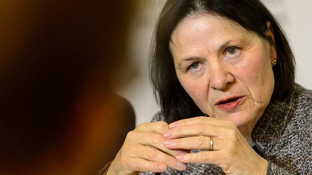 Staatsrätin Esther Waeber-Kalbermatten