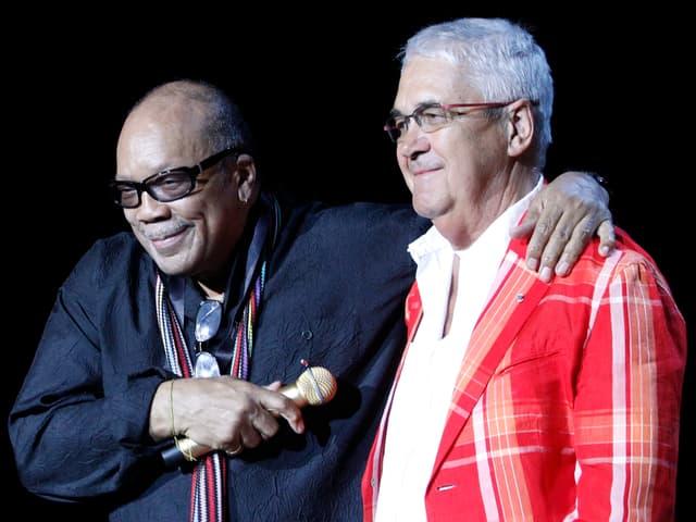 Quincy Jones und Claude Nobs