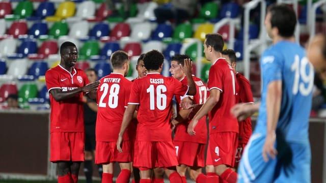 Die Berner Oberländer stehen in der 3. Qualifikationsrunde zur Europa League.