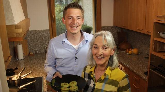 Video «Grüntee-Muffins vom Monte Verità» abspielen