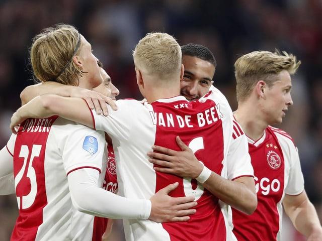 Die Youngsters von Ajax.