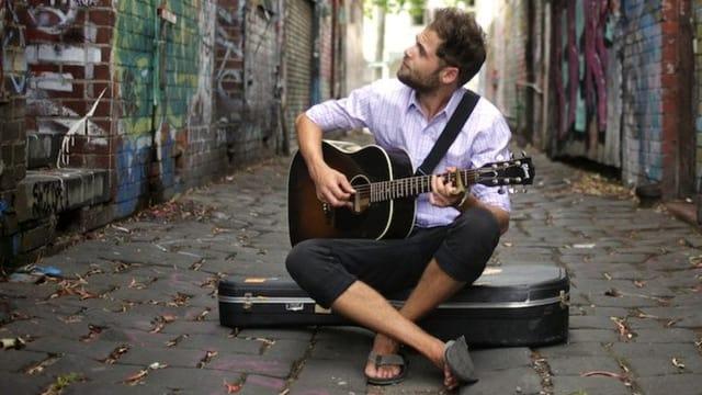 Der Singer-Songwriter Passenger
