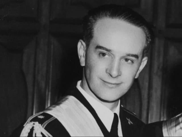 Guatemalas Präsident Präsident Jacobo Árbenz Guzmán.
