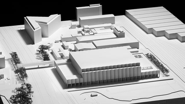 Visualisierung des Gesamtprojekts «Theatre of Dreams»
