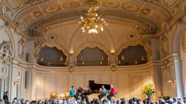 Blick in den Konzertsaal der Tonhalle.