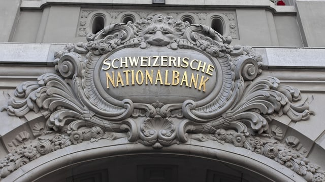 emblem da la banca naziunala sur il portal principal