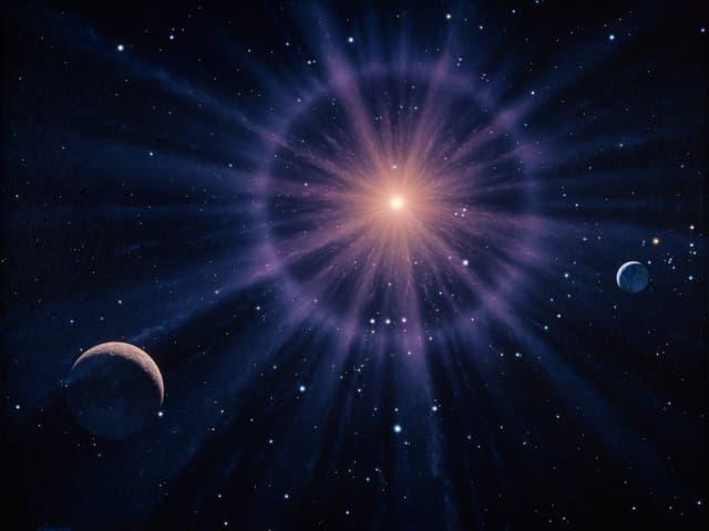 Darstellung des Sterns Betelgeuse