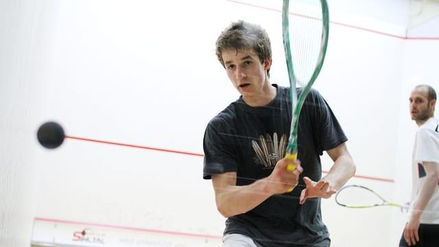 Der Squasher Patrick Miescher