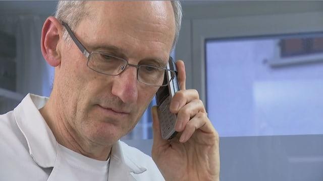Heinz Bhend, Arzt in einer Gesellschaftspraxis