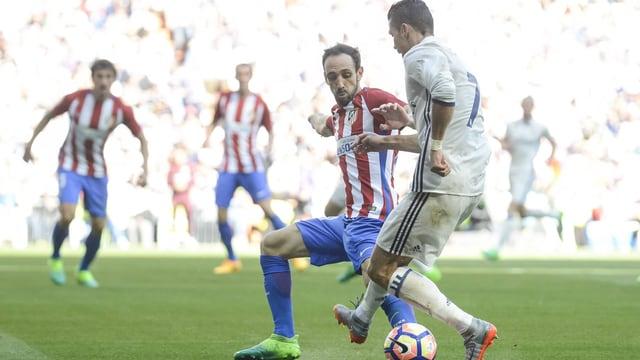 Ronaldo gegen Juanfran Torres.