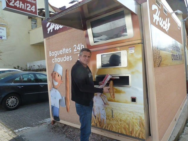 Jean-François Bir, Vertreiber der Baguette-Automaten