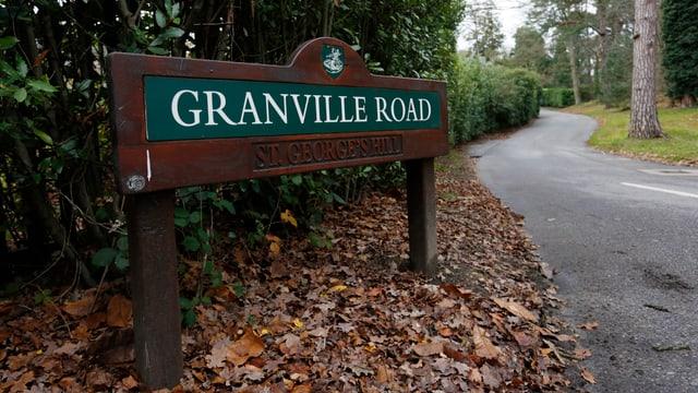 Die «Granville Road» in Surrey, wo Pereilichny tot aufgefunden wurde.