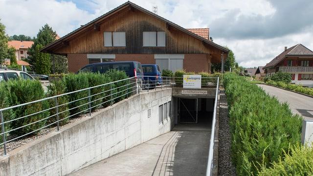 Zivilschutzanlage in Riggisberg