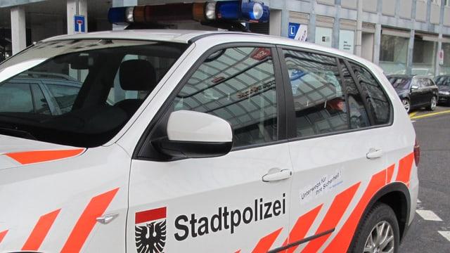 Streifenwagen der Stadtpolizei
