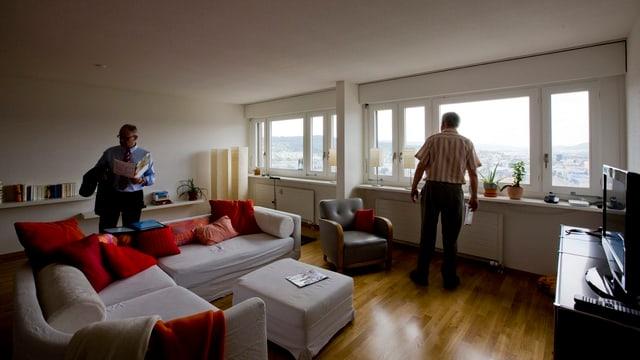 Wohnung in den Hardau-Türmen in Zürich
