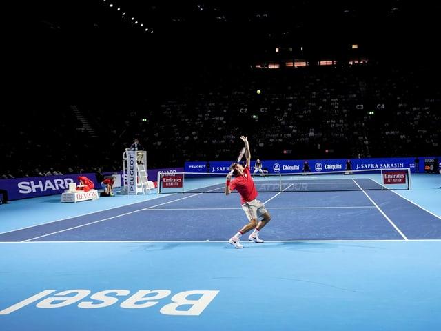 Die Swiss Indoors finden im Jahr 2020 nicht statt.