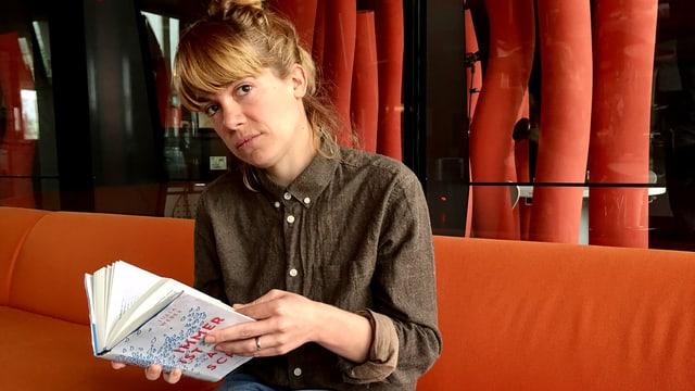 Erzählt die tragische Geschichte einer Familie: Autorin Julia Weber