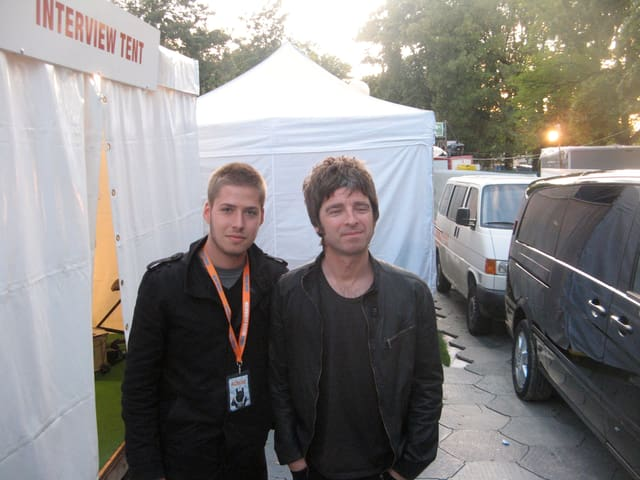 Joël & Noel am Gurtenfestival 2009.