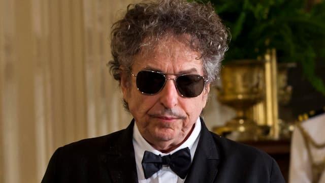 Bob Dylan im Smoking