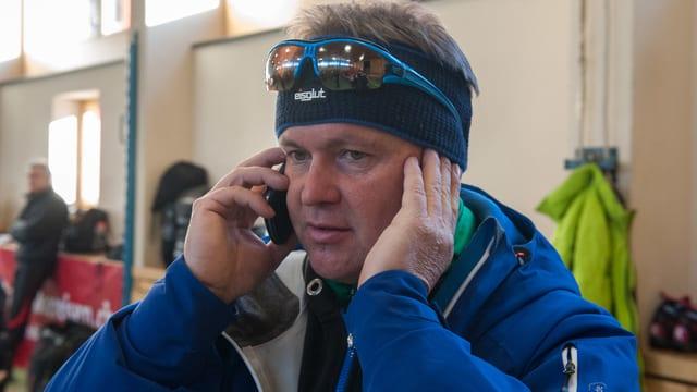 Il telefonin da Toni Cathomen n'ha betg scalinà uschè savens.