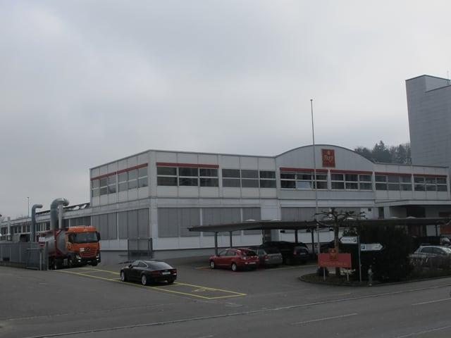 Kaugummifabrik von aussen.