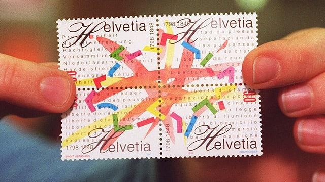 Jubiläums-Briefmarke.