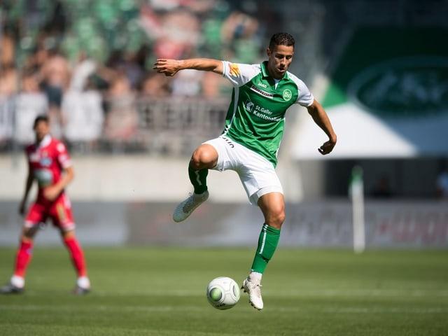 Nassim Ben Khalifa im Heimspiel gegen Sion im Juli 2018.