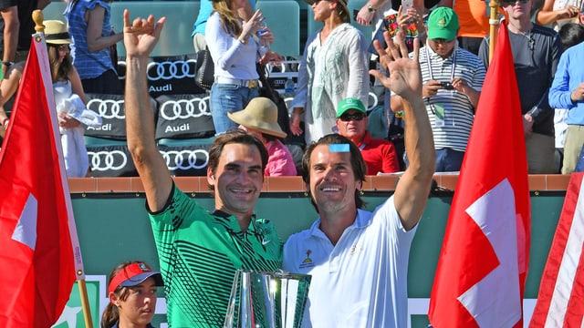 Federer und Haas