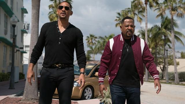 Die «Bad Boys» sind back: Will Smith und Martin Lawrence alias Mike Lowrey und Marcus Burnett.