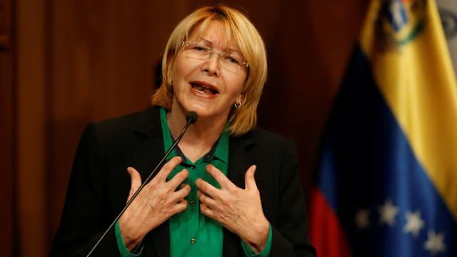 Generalstaatsanwältin Luisa Ortega.