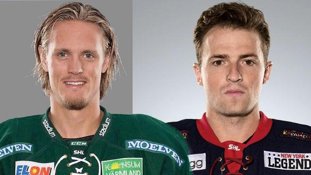 Purtret da Magnus Nygren e Broc Little.