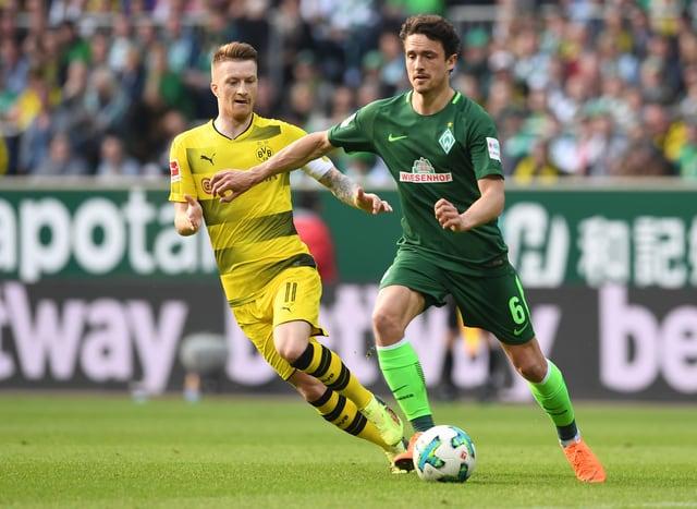 Marco Reus (l.) und Thomas Delaney.